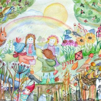 Postkarten Jahreszeiten