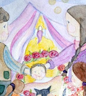 Postkarten Geburt