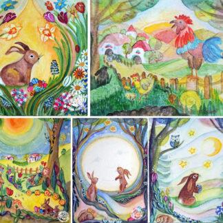 Postkarten & Kunstkartensets