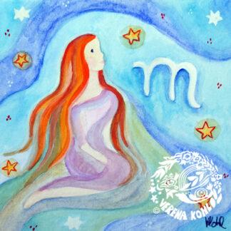 Postkarten Sternzeichen
